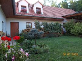 Homestay Výrovice, Výrovice (Miroslav yakınında)