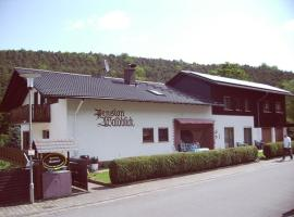 Pension Waldblick, Höchst im Odenwald (Ober-Nauses yakınında)
