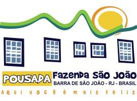 Pousada Fazenda São João, 바라드사오조아오