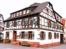 Goldner Engel, Restaurant - Hotel - Metzgerei, Laudenbach (Klingenberg am Main yakınında)