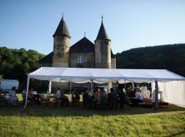 Chateau de Sainte Colombe Sur Gand, Sainte-Colombe-sur-Gand (рядом с городом Saint-Symphorien-de-Lay)