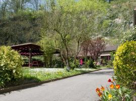 Hotellerie de la Cascade, Saint-Genis-les-Ollières