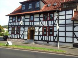 Landhotel Zur Krone, Kieselbach (Philippsthal yakınında)
