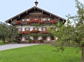 Ferienwohnung Wasserfischerhof, Strass im Zillertal (Münster yakınında)