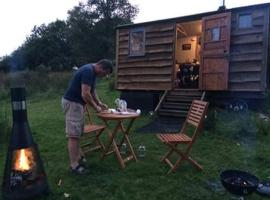 Pyllauduon Luxury Shepherds Hut, Tregaron