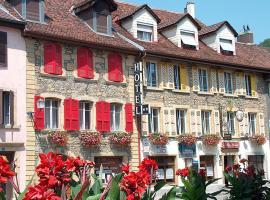 Hôtel de la Croix-Blanche, Cressier (Thielle yakınında)