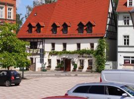 Hotel am Neumarkt, Zeitz (Elsteraue yakınında)