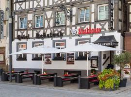 Hotel Rebstock, Mengen (Sigmaringendorf yakınında)