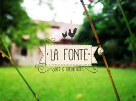B&B La Fonte, Castelgomberto (Gambugliano yakınında)