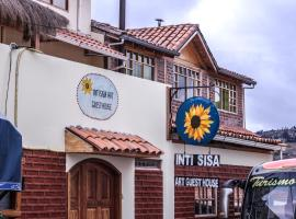 Inti Sisa Art Guesthouse, Guamote (Alao yakınında)