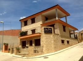 Bielas y Pistones & Apart. Rurales Las Eras, Castelserás (Alcañiz yakınında)