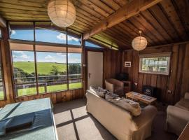 Timber Hill Self Catering Cedar Lodges, Broad Haven