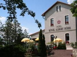 Hotel König Albert Höhe, Rabenau (Obernaundorf yakınında)