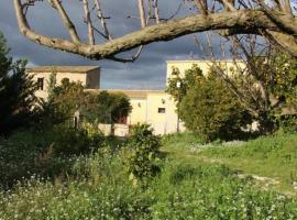 La Casa Gialla, Chiaramonte Gulfi (La Chiesa yakınında)