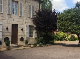 Hôtel des Cymaises, Semur-en-Auxois (рядом с городом Villars-et-Villenotte)