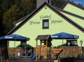 Gasthof Thomas Müntzer, Steinheid (Scheibe-Alsbach yakınında)