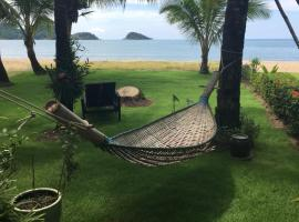Absolute Beachfront Villa