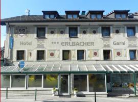 Hotel Garni Erlbacher, Шладминг
