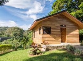 Cabañas Hoja Verde, Monteverde Costa Rica (La Cruz yakınında)