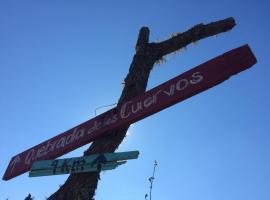 Cañada del Brujo, Quebrada de los Cuervos