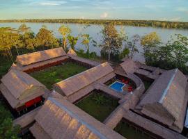 Heliconia Amazon River Lodge, Франциско-де-Орельяна