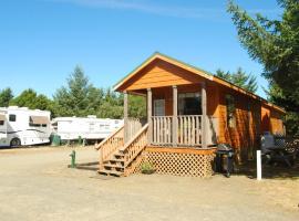 Long Beach Camping Resort Cabin 1, Oceanview