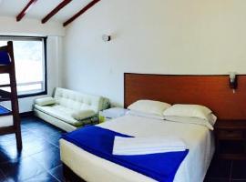 Camino A La Villa Cucaita Hotel, Cucaita