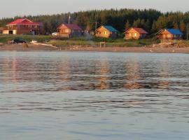 Patty's Beach Chalets, Janeville (Petit Rocher yakınında)