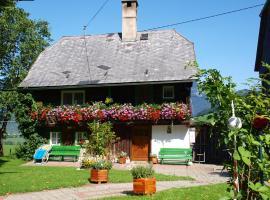 Bio Bauernhof Maurerwolferl, Irdning (Aigen im Ennstal yakınında)