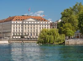 Four Seasons Hotel des Bergues Geneva, Женева