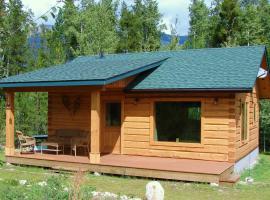 Mica Mountain Lodge & Log Cabins, Tete Jaune Cache (McBride yakınında)