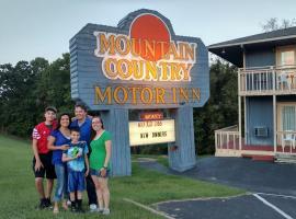 Mountain Country Motor Inn 2 Stars Branson West