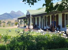 Hoopenburg Guesthouse, Stellenbosch (in de buurt van De Novo)