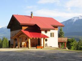 Tschurtschenthaler Lodge, Golden (Beaverfoot yakınında)