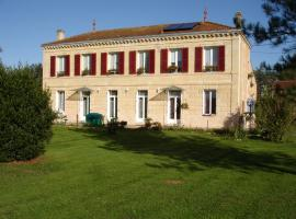 Chambres d'hôtes les Denias, Saint-Paul (рядом с городом Saint-Christoly-de-Blaye)