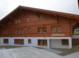 Apartment Marie-Françoise (1. Stock), Gstaad (Schönried yakınında)