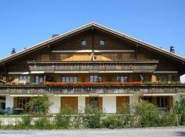 Apartment Fichte, Gstaad (Saanenmöser yakınında)