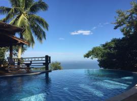 Casa com linda vista para o mar