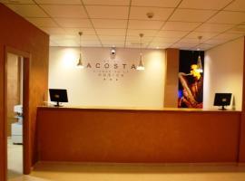 Hotel Acosta Ciudad de la Música, Villafranca de los Barros (Ribera del Fresno yakınında)