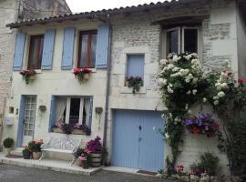 La Maison du Bonheur, Bourg-Charente (рядом с городом Gensac-la-Pallue)