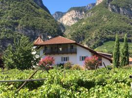 Ferienwohnung Eichnerhof, Magrè all' Adige (Laghetti yakınında)