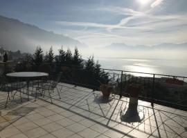 Swiss Riviera Belmont, Montreux (Le Châtelard yakınında)