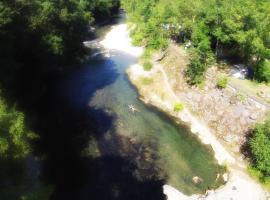 """Camping Uhaitza """"Le Saison"""", Mauléon-Licharre (рядом с городом Musculdy)"""