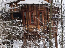 Kulturinsel Einsiedel - Wintertime Treehouse, Zentendorf