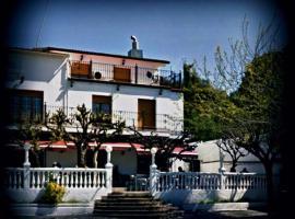 Hostal del Carmen, Терраса (рядом с городом Les Fonts)