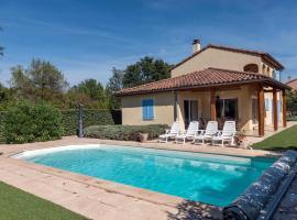 Villa Les Rives de l'Ardeche, Валлон-Пон-д'Арк (рядом с городом Sampzon)