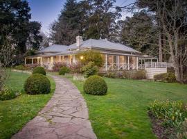 Moulton Park Estate - Homestead, Sassafras (Ferny Creek yakınında)