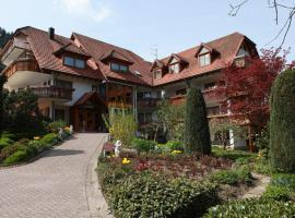 Hotel Garni Café Schacher, Oberwolfach (À proximité de: Wolfach)