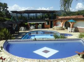 Finca Hotel Villa Sofia, Quebrada Guadalejo (Bolívar yakınında)