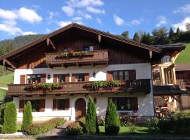 Ferienwohnung Strubbauer, Abtenau (Pichl yakınında)